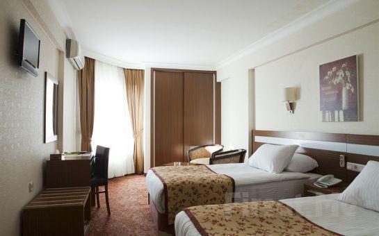 4 Yıldızlı Atalay Hotel Ankara'da 2 Kişi 1 Gece Konaklama + Açık Büfe Kahvaltı veya Akşam Yemeği Seçeneğiyle!