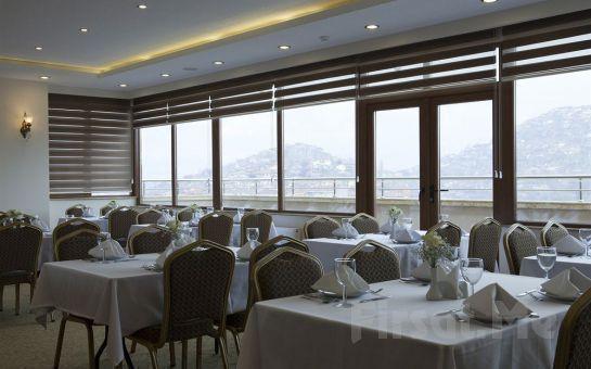 4 Yıldızlı Atalay Hotel Ankara'da 2 Kişi 1 Gece Konaklama, Açık Büfe Kahvaltı veya Akşam Yemeği Seçeneğiyle