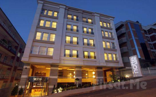 Notte Hotel Ankara'da 2 Kişi 1 Gece Standart Odalarda Konaklama, Açık Büfe Kahvaltı, Türk Hamamı Kullanım Fırsatı