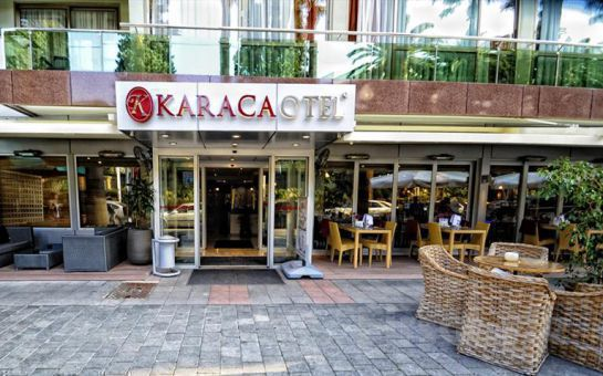 Evinizin Konforunda İzmir Karaca Otel'de Konaklama ve Kahvaltı Keyfi Kişi Seçenekleriyle!