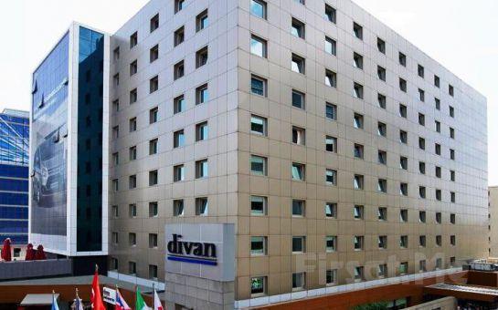 Divan İstanbul City Gayrettepe Hotel'de 2 Kişi 1 Gece Konaklama veya Açık Büfe Kahvaltı + Spa Keyfi!