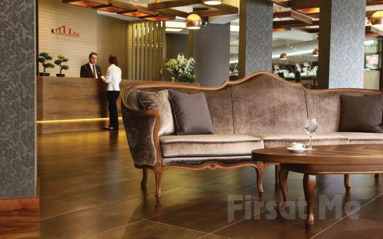 Bursa Tiara Termal, Spa Hotel'de Standart, Deluxe veya Jakuzili Odalarda Konaklama, Kahvaltı, Termal Havuz, SPA Kullanımı