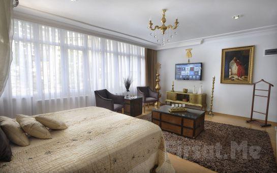 Beyoğlu Kazancı Residence'da Jakuzili Stüdyo Odalarda 2 Kişi 1 Gece Konaklama ve Kahvaltı Keyfi!