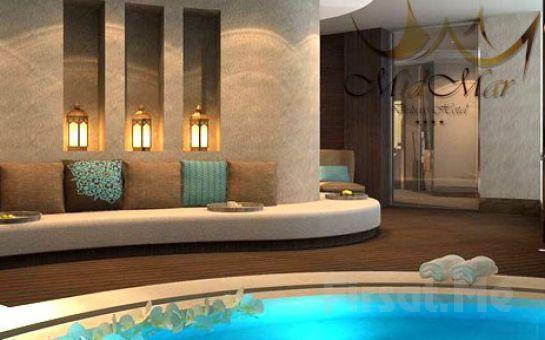 Mid Mar Deluxe Hotel Spa'da Profesyonel Terapistler Eşliğinde 50 Dakika Dilediğiniz Masaj, Türk Hamamı ve Sauna Kullanımı!