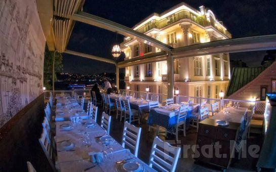 Ortaköy Bodrum Balık Restaurant'ta Boğazın Eşsiz Güzelliği Eşliğinde İçki Dahil Akşam Yemeği