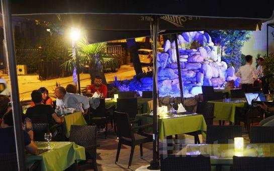 Bayramoğlu Paradise island Otel'de Leziz Akşam Yemeği