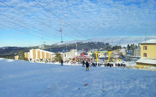 Uludağ'ı Sizin İçin Erişilmez Olmaktan Çıkartıyoruz! Tatil Bugün'den, Öğle Yemeği Seçeneği ile Günübirlik Uludağ Kayak Turu