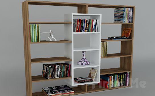 Dekorister Modüler Mobilya'dan, Dekorister Ample Kitaplık (Kargo Bedava)