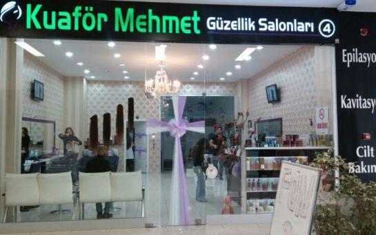 Beylikdüzü Kuaför Mehmet Güzellik Salonları'ndan Dip Boya, Kesim, Komple Sir Ağda, Manikür, Pedikür, Kaş Dizaynı, Dudak Üstü Alım Fırsatı
