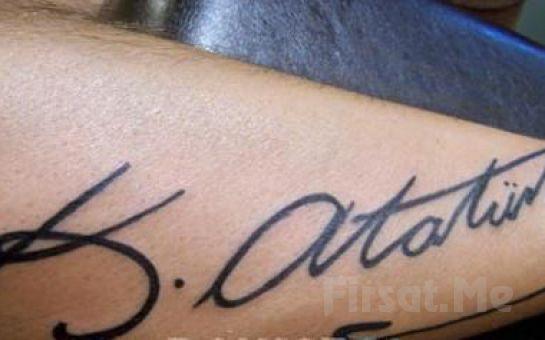 Berilya AVM Royal Wo&Man Tattoo'dan, 6 cm'ye Kadar Yazı Fırsatı!
