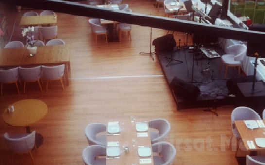 Çankaya Mezze Restaurant'ta Sınırsız Çay Eşliğinde Serpme Ege Köy Kahvaltısı