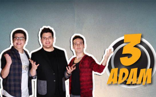 Ankara Tour Jet'ten Günübirlik İstanbul ve 3 ADAM Show Programı Canlı Yayın Çekimine Katılım Fırsatı (Ekstra Ücret Yok)