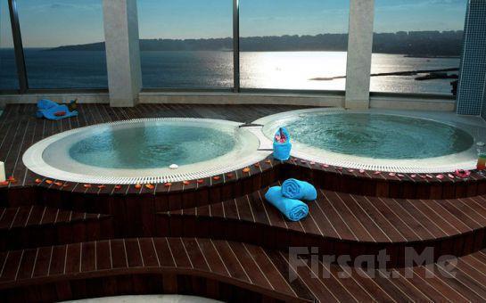 Büyükçekmece Eser Premium Hotel ve Spa'nın 5 Yıldızlı Konfora Sahip Odalarında 2 Kişi 1 Gece Oda Kahvaltı Dahil Konaklama Fırsatı