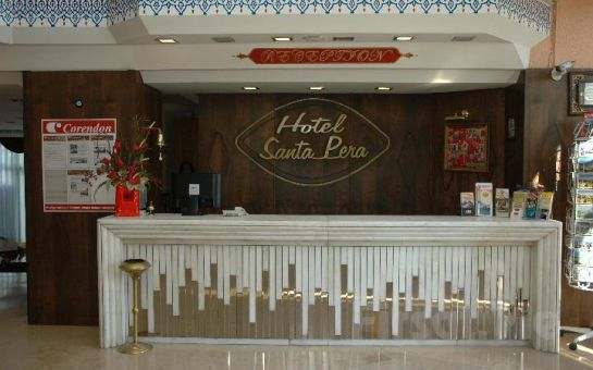 Santa Pera Hotel'de 2 Kişi 1 Gece Konaklama, Kahvaltı Fırsatı