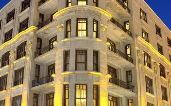 Taksim Atik Palace Hotel'de Kahvaltı Dahil 2 Kişi 1 Gece Konaklama