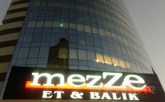 Çankaya Mezze Restaurant'ta Canlı Müzik Eşliğinde Hafta Sonları Açık Büfe Kahvaltı Keyfi