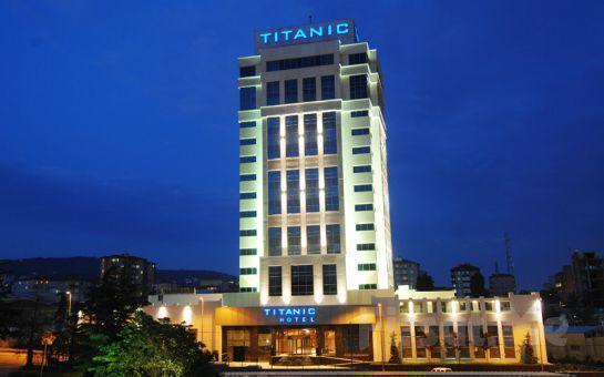Ayrıcalığın Keyfini Titanic Business Kartal Hotel'de Yaşamak İsteyenlere 2 Kişi 1 Gece Konaklama ve Kahvaltı Keyfi