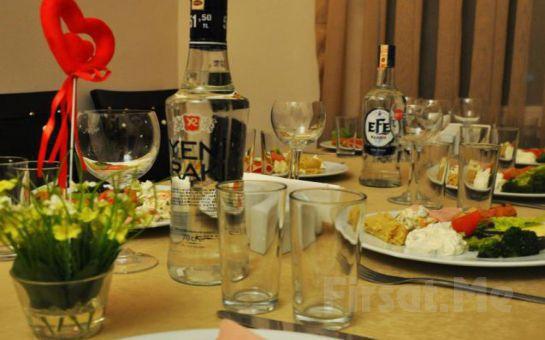 İzmir Alsancak Fasl-ı Nihavend Meyhane'de Fasıl Eşliğinde Muhteşem Yılbaşı Menüsü ve Eğlencesi