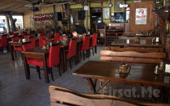 Yeşilçay Nehri Manzaralı Ağva Asmalı Köşk Restaurant'da Romantik Akşam Yemeği Fırsatı