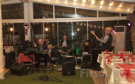 Kadıköy Nabizade Konağı'nda Canlı Müzik ve Zengin Menü Eşliğinde Yılbaşı Eğlencesi (Sınırsız İçki Dahil)
