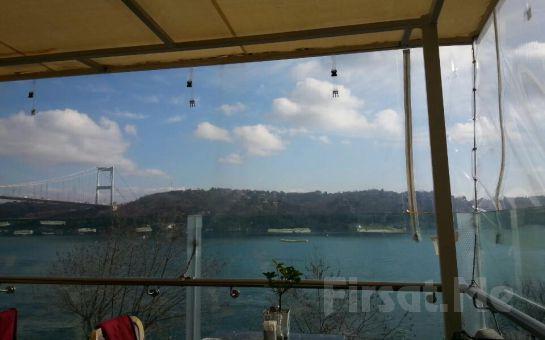 Rumeli Hisarı Seyir Terrace Agaro Meyhanesi'nde Boğaz'a Karşı Canlı Müzik ve Leziz Menü Eşliğinde Yılbaşı Eğlencesi