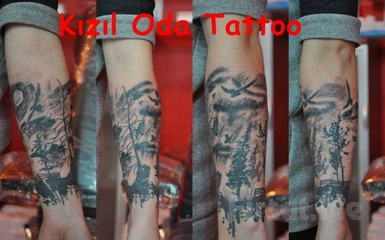 Beşiktaş Kızıl Oda Tattoo'da 7*7 cm Boyutlarında İstediğiniz Renk Ve Model Dövme Fırsatı!(İsteyene Yazı veya İsim Dövmesi Hediye)