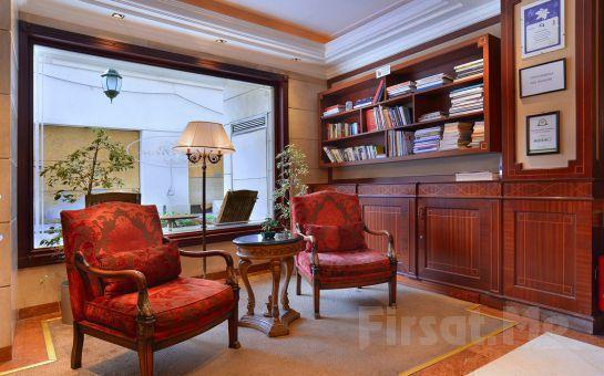 İstanbulun Ritmini Hissedin! Pera Rose Hotel'de 2 Kişi 1 Gece Konaklama + Kahvaltı + SPA Fırsatı!