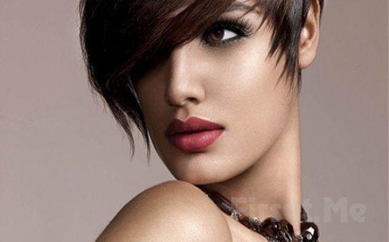 Kozyatağı SaloonS Güzellik'ten, Saç Kesimi, Argan Yağı İle Saç Bakımı, Fön Fırsatı