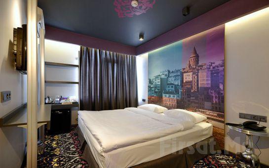 Taksim Pera Tulip City Hotel'de 2 Kişi 1 Gece Konaklama + Kahvaltı + SPA Keyfi!