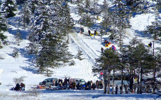 Tur Dünyası'ndan 1 Gece 2 Gün Yarım pansiyon Konaklamalı Kartepe + Cennet Göl + Abant Kayak ve Doğa Turu!