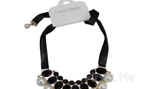 Şıklığnızın Tamamlayıcısı Fashion Jewelery İnci ve Taş Karışımı Gösterişli Kolye Fırsatı