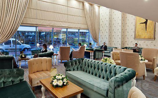 Antalya Best Western Plus Khan Hotel'de Kahvaltı Dahil 2 Kişi 1 Gece Konaklama + Sauna Kullanım Fırsatı!