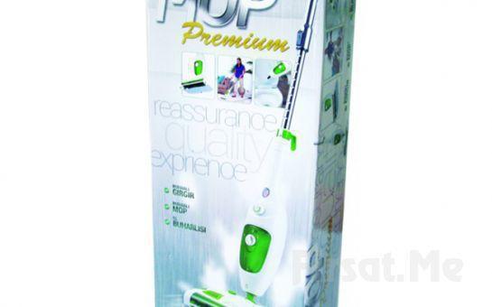 Mikropları Birkaç Saniyede Yok Eden Kochler Premium X13 Buharlı Gırgırlı Mop!