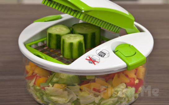 Çok Amaçlı Mekanik Doğrayıcı Genius Salat Chef Fırsatı!
