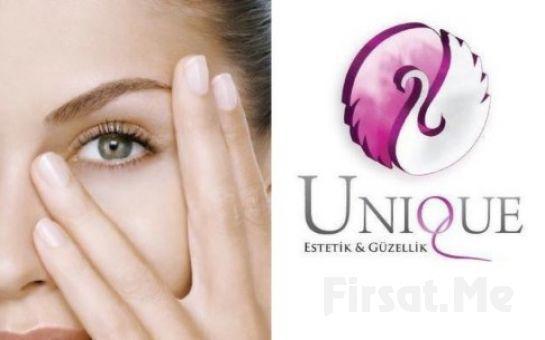 Unique Estetik'ten 2 Seanstan Oluşan Göz Çevresi Bakımı ve Gençleştirme Paketi!