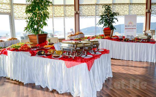 Aydos Ormanları'nın Yanıbaşında, Bervaze Ortadağ Restaurant'ta Bol Oksijenli Kahvaltı Keyfi