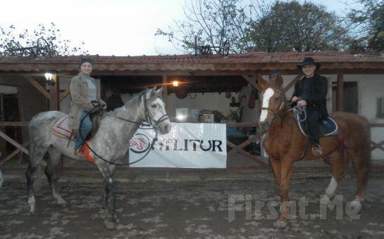 Sarıyer Atlıtur'dan Doğada Özgürce At Binme Keyfi Gözleme ve Çay İkramı ile