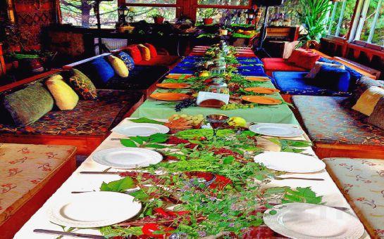 Şile Nehri Kenarında Façiba'da, Açık Büfe Kahvaltı Keyfi