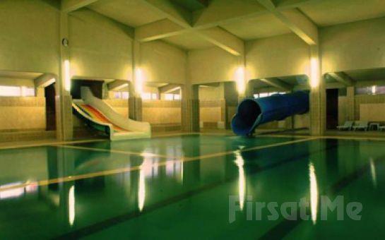Huzurun Adresi Afyon Ömer Termal Hotel Holiday Village'de Kişibaşı Yarım Pansiyon Konaklama, Termal Havuz, SPA Kullanım Fırsatı