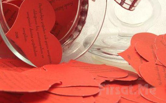 Sevgilinize Aşkınızı Anlatmanın 365 Yolu Aşk Kavanozu Kalpli Notlar
