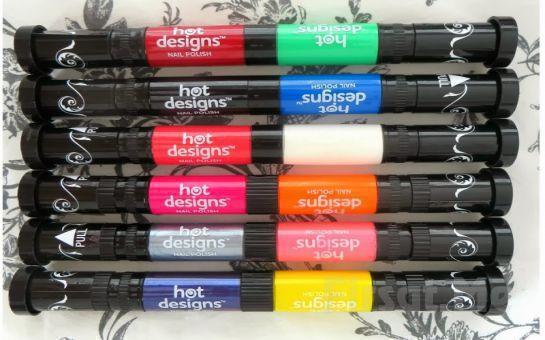 Renkli Dünyanızı Tırnaklarınıza Yansıtan Hot Designs Tırnak Desen Kalemi