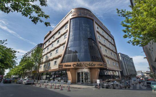 Midmar Deluxe Hotel Spa'da Profesyonel Terapistler Eşliğinde Bayanlara Özel 50 Dakika Dilediğiniz Masaj, Türk Hamamı ve Sauna Kullanımı