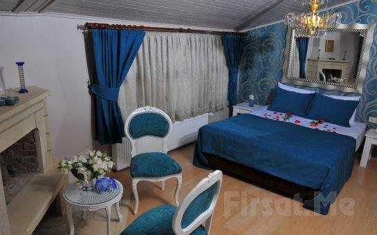 Ağva İnn Otel'de 2 Kişilik Jakuzili ve Şömineli Odalarda Konaklama Seçenekleri