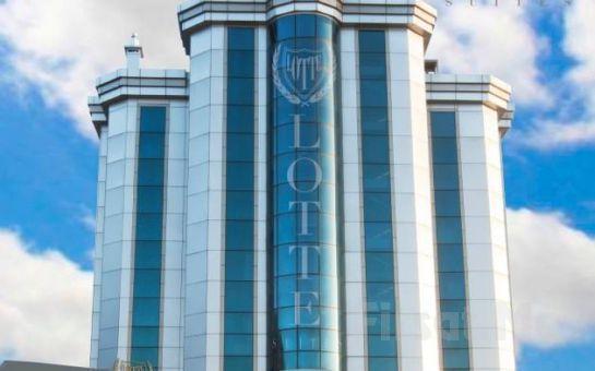 Ümraniye Lotte Suites Hotel 2 Kişi 1 Gece Konaklama ve Kahvaltı Keyfi!