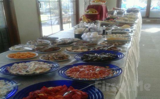Merter Şelale Cafe'de Serpme Kahvaltı veya Her Pazar Açık Büfe Kahvaltı Keyfi!