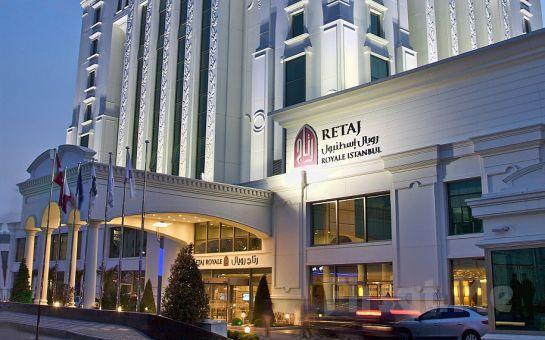 Güneşli Retaj Royale İstanbul Otel'de 2 Kişi 1 Gece Konaklama, Kahvaltı Seçeneğiyle