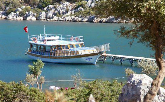 Club Antiphellos Kaş'da Denize Sıfır 2 Kişi 1 Gece Konaklama ve Kahvaltı Tatil Fırsatı!