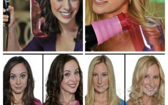 Saçlarınızı Kırmadan Ve Yıpratmadan İstediğiniz Şekli Vermek İçin Air Curler Mucize Saç Dalgalandırıcı