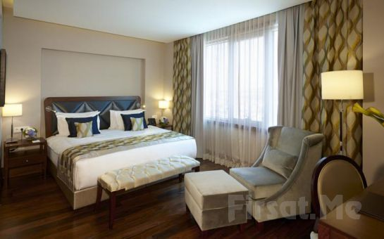Crowne Plaza Oryapark Otel Ümraniye'de 2 Kişi 1 Gece Konaklama Keyfi!
