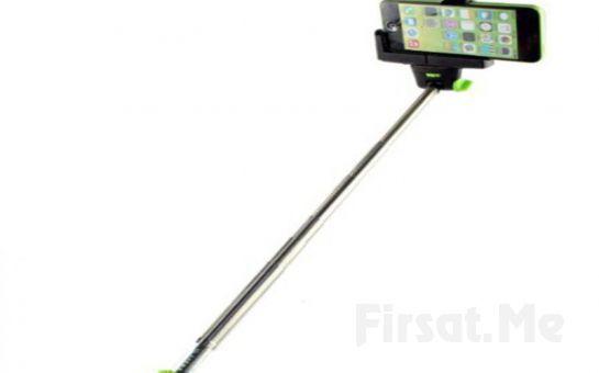 Başkasına İhtiyaç Duymayadan Fotoğraflarınızı Çekebilmeniz İçin Selfie Çubuğu!